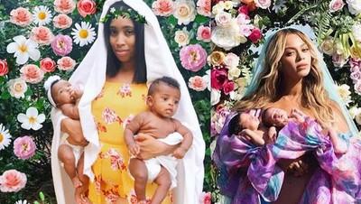Foto: Ekspestasinya Seperti Beyonce, Realitanya....