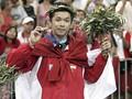 FOTO: Rekam Jejak Taufik Hidayat di Panggung Badminton