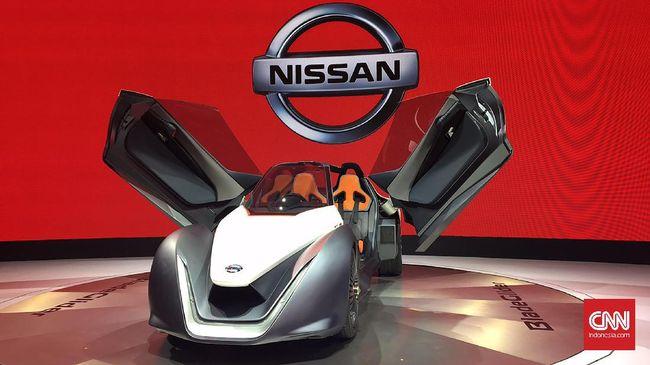 Dua Mobil Listrik Konsep Nissan Mejeng di GIIAS 2017