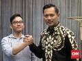 Kemesraan Gibran Jokowi dan AHY di Istana