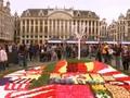 Menikmati Indahnya Hamparan Bunga dan Sayur di Brussels