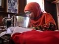 Kunjungi Rumah Fatmawati, Menteri Khofifah Jahit Sang Saka