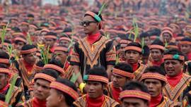 Pesta 10 Ribu Penari Saman Pecahkan Rekor MURI