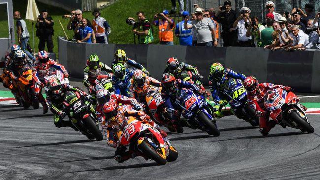 Berikut jadwal lengkap MotoGP 2020 yang akan dimulai dengan balapan di Sirkuit Losail, Qatar, 8 Maret 2020.