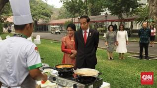 Jokowi Ingatkan Pentingnya Anak-anak Konsumsi Ikan