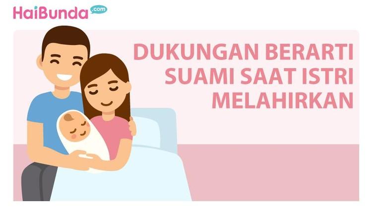 Hal simpel yang dilakukan suami saat tiba waktunya melahirkan bisa jadi sesuatu yang amat berarti untuk seorang istri.