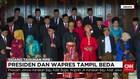 Presiden dan Wapres Tampil Beda