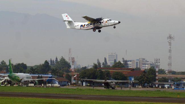 Pengelola Lanud Husein Sastranegara, Bandung tak yakin suara misterius yang viral di media sosial berasal dari pesawat