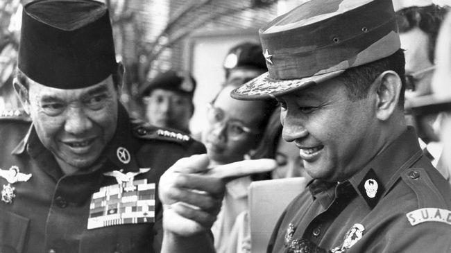 Surat perintah 11 Maret 1966 merupakan jalan awal bagi Soeharto hingga menjadi Presiden menggantikan Soekarno.