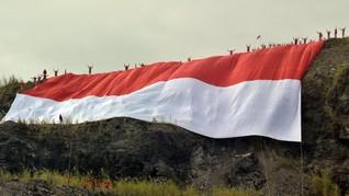 Kronologi Pembakaran Bendera Merah Putih di Lampung Utara
