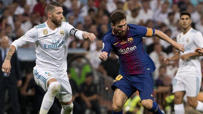 Kapten Real Madrid Sergio Ramos mengatakan bintang Barcelona Lionel Messi telah membuat timnya menderita selama bertahun-tahun.