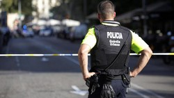 Kepolisian Spanyol Tembak Mati Pelaku Teror Barcelona