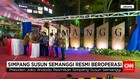 Presiden Joko Widodo Resmikan Simpang Susun Semanggi
