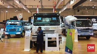 Proyek Infrastruktur Kerek Penjualan Truk dan Mobil Pick Up