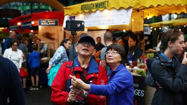 FOTO: Borough Market, Legendaris dan Favorit Turis