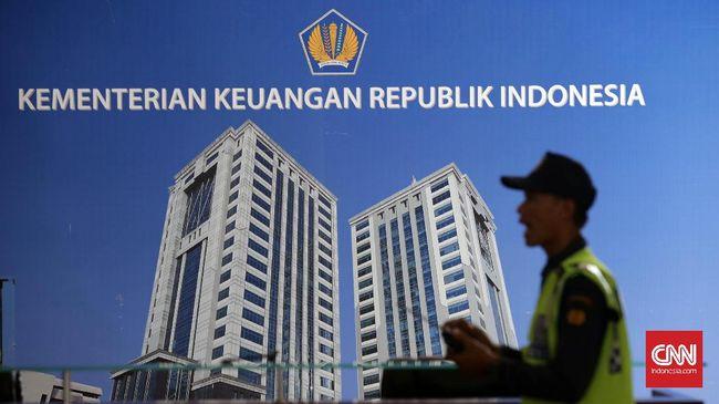 Kantor Kementerian Keuangan RI. CNNIndonesia/Safir Makki