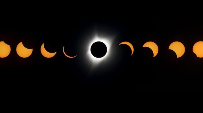 Menakjubkan, Penampakan Gerhana Matahari Total di AS