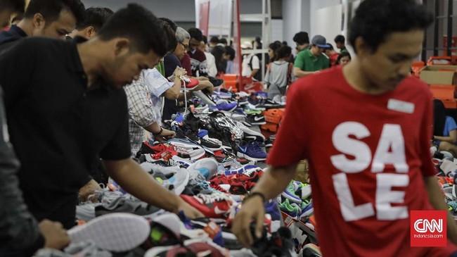 Antrean Mengular di Nike Bazaar Bukti Daya Beli Masih Kekar