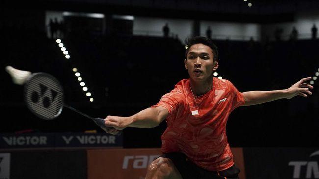 Atlet bulu tangkis Indonesia, Jonathan Christie, masuk jajaran nominasi pria tertampan di dunia versi TC Candler.