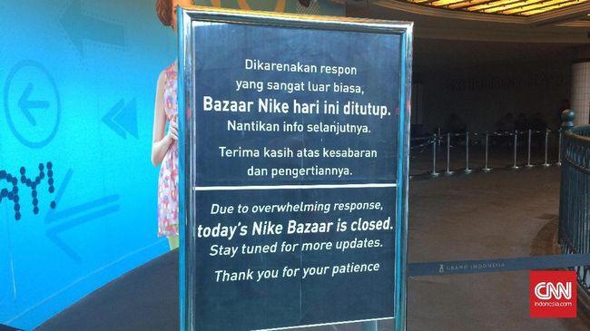 Untuk selanjutnya, petugas keamanan tidak bisa memastikan apakah bazaar tersebut akan dihentikan total atau kembali buka pada esok hari.