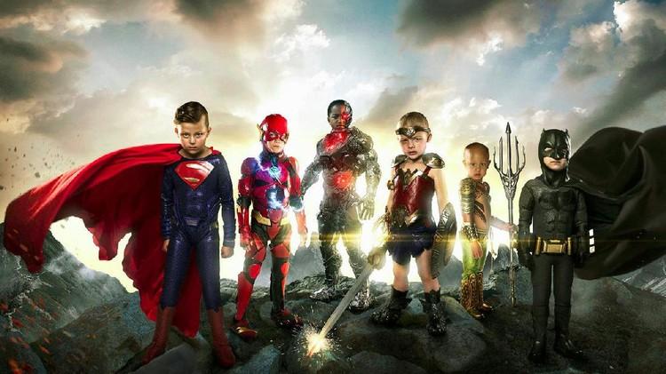 Di balik foto superhero dengan model anak-anak ini, ada cerita yang nggak biasa lho, Bun.