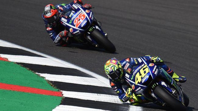 Hubungan Rossi-Vinales Lebih Baik Ketimbang Rossi-Lorenzo
