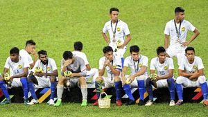 FOTO: Nasib Nahas Timnas Malaysia Keok di Final