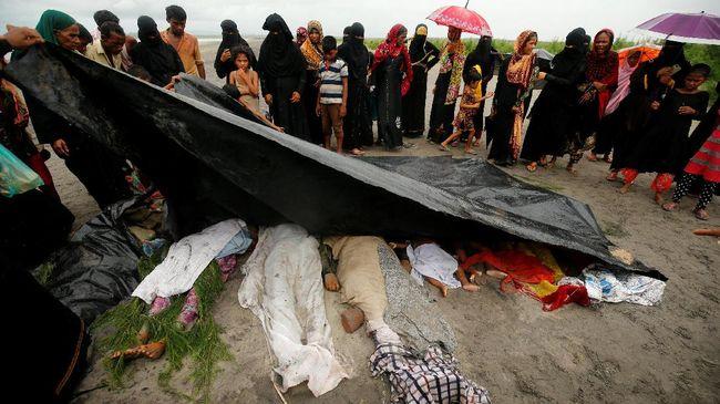 Bangladesh Temukan Tujuh Jasad Rohingya di Perbatasan
