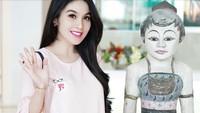 Aktris Sandra Dewi juga sedang hamil lho. Lihat nih, wajahnya makin flawless. Kece banget deh. (Foto: Instagram @sandradewi88)
