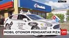 Mobil Otonom Pengantar Piza