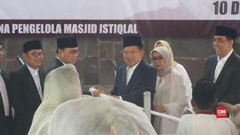 VIDEO: Jokowi-JK Sumbang Dua Sapi untuk Masjid Istiqlal