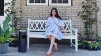 Aktris Ryana Dea makin kece badai nih di kehamilannya yang pertama ini. Saat ini kehamilan Ryana sudah memasuki 27 minggu. (Foto: Instagram @ryana_dea)