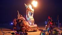 FOTO: Ekspresi 'Radikal' Seni di Burning Man Festival