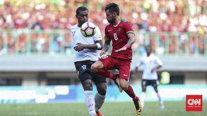FOTO: Timnas Indonesia Kembali Beraksi Lawan Fiji