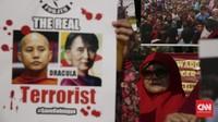 FOTO: Dari Indonesia Mendukung Rohingya