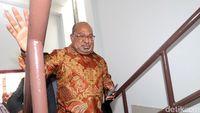 Gubernur Papua Laporkan Persiapan Pon Ke Kemenpora
