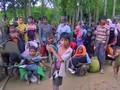 VIDEO: Ledakan di Tengah Pelarian Rohingya