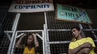FOTO: Berjejalan di Penjara Quezon, Filipina