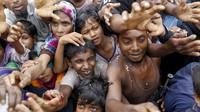 FOTO: Situasi Pengungsi Rohingya di Kamp Bangladesh
