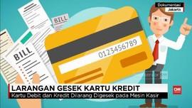 Masyarakat Diminta 'Cerewet' Soal Gesek Kartu Debit & Kredit