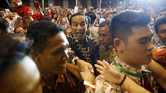 jokowi buka festival anak soleh indonesia x di banjarmasin