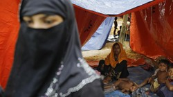 Banyak Pengungsi Rohingya Derita Pneumonia
