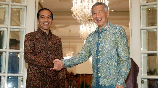 Presiden Singapura Halimah Yacob dan PM Lee Hsien Loong menyatakan belasungkawa kepada Presiden Joko Widodo terkait gempa Lombok, NTB, Minggu (5/8).