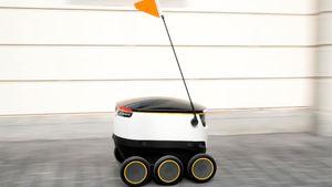 Robot Mini Pengantar Belanja Online