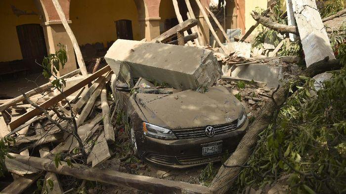 Gempa Kekuatan 7,1 SR Guncang Meksiko