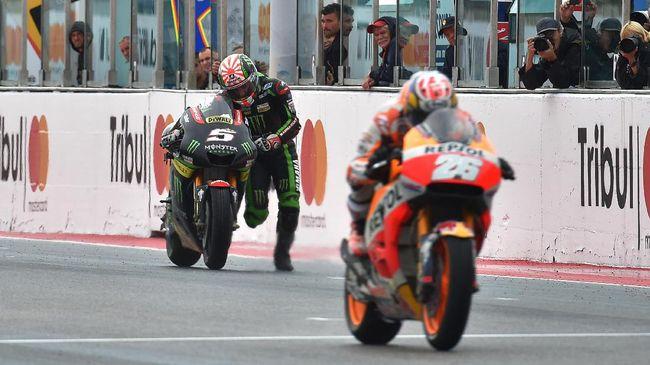 Zarco: Aksi Dorong Motor Bakal Dikenang Penggemar MotoGP