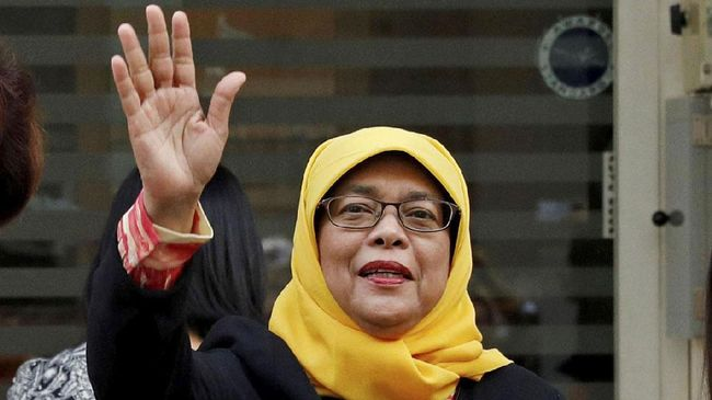 Halimah Yacob, dari Warung ke Kursi Presiden Singapura