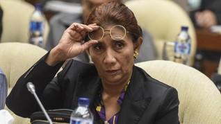 Cuitan Gus Mus Bela Menteri Susi soal 'Tenggelamkan' Kapal