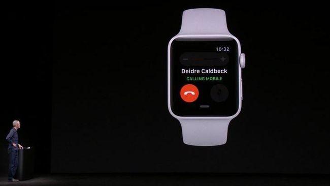 Makin Canggih, Apple Watch Kini Bisa Dipakai Telepon