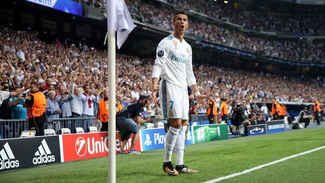 Babak I: Real Madrid Unggul 1-0  Atas APOEL Lewat Gol Ronaldo